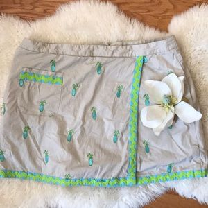 Lilly Pulitzer golf skorts size 14 golf bag